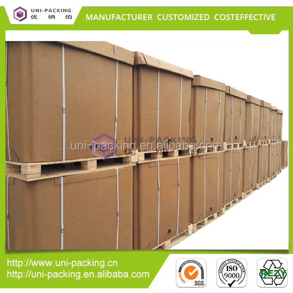 Liquid food grade packaging <strong>boxes</strong> recyclable collapsible intermediate bulk container paper IBC