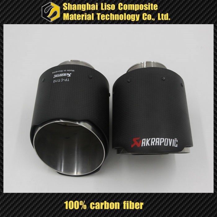 carbon fibe pipe vw accessories carbon fiber exhaust pipe