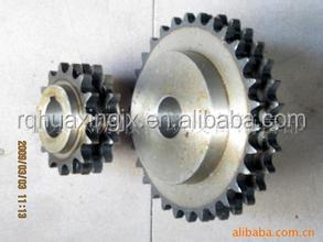 duplex chain sprocket double teeth sprockets