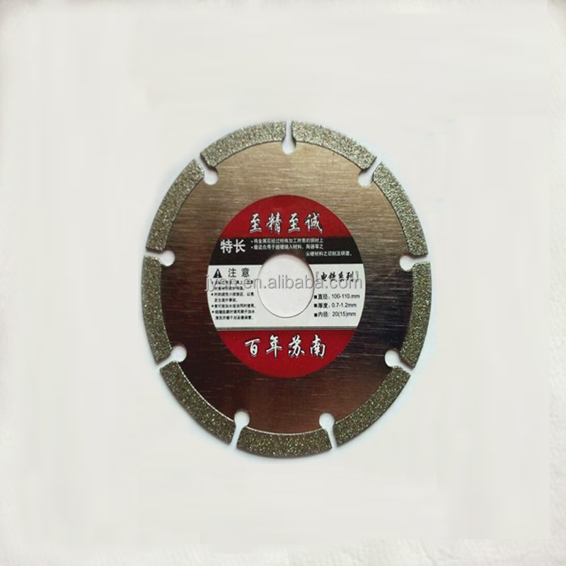 New 100x5mm Key slot Diamond cutting disc for Angle Grinder