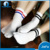 White color two lines fashionable school couple socks