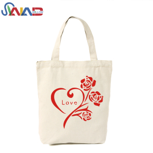 100% Natural Color Organic Shoppers Tote Cotton Canvas Bag
