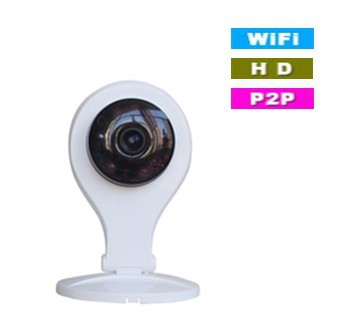 Motion detection an email alarm two way intercom video recording p2p wifi wireless ip camera BS-IP07
