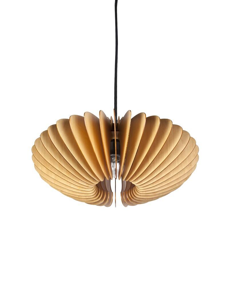 Pendant Lamp Shade Paper: EMS Free Shipping E27 Pendant Light Modern Style Wood