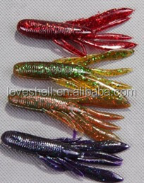 monster Shrimp series lure soft bait 8cm 7.7g jigging squid fishing tackle bass marlin fishign lure