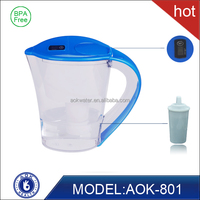Supply eco-friendly plastic alkaline water filter pitcher/Jug
