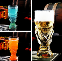 New Desigh Cheap Price Tall World Cup Beer Glass, beer glass cup,beer mug
