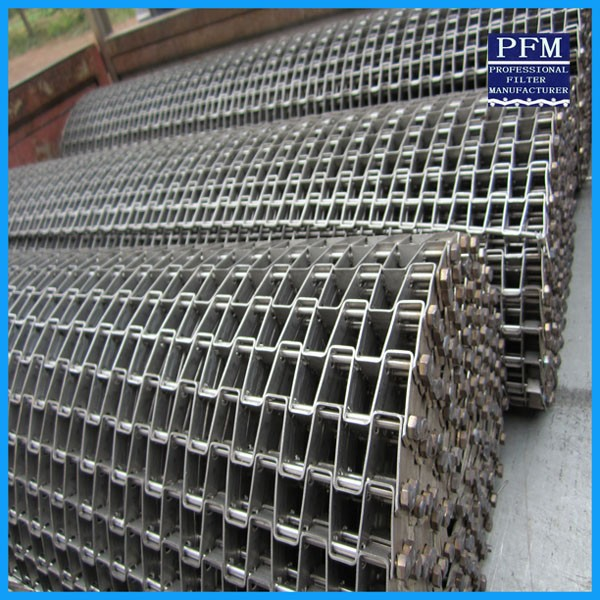 Stainless Steel Rod Driven Chain Conveyor Belt Mesh For Foods Processing -  Buy Chain Conveyor Belt Mesh,Wire Mesh Belt,Wire Mesh Conveyor Belt Product