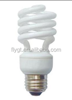 3500k 7mm T3 8W Half spiral cixing energy saving lamp with CE Rohs