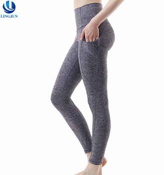 f50fec3227c62 Custom Manufacture Outside Pocket High Waist Dri Fit Womens Activewear  Clothes Ladies Yoga Wear Gym Tight