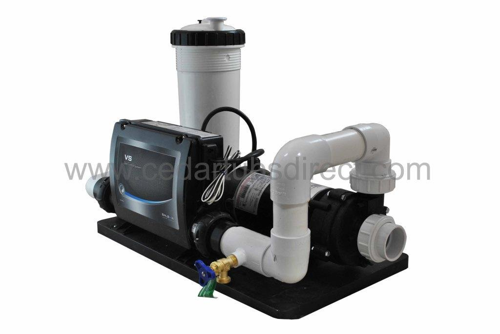 Balboa Spa System - 1.5 HP Pump, 5.5 Kw Heater, 50 Ft
