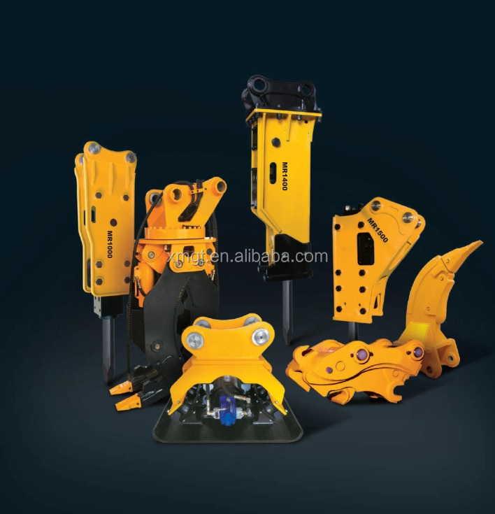 Fabricante de martelo hidráulico para escavadeira GT140