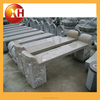 outdoor park piano stone bench with legs for garden furniture
