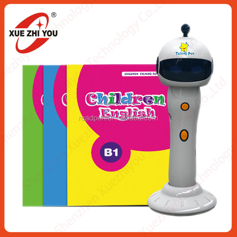 <XZY>Toy Touch Child books 5 languages <strong>translation</strong> Magic pen talking