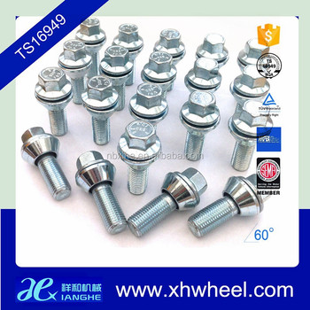Variable PCD M14 x 1.5 bolts 5x98 5x100 5x106 5x108 5x110 5x112 5x118 5x120