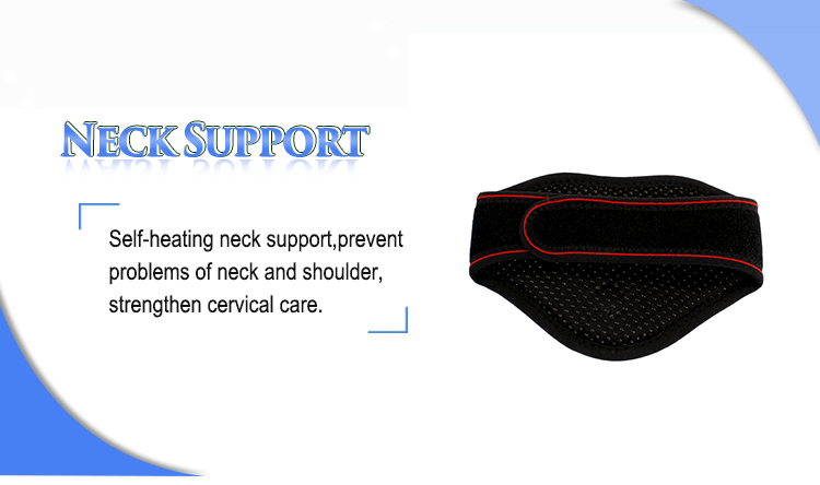 Self Heating Magnetic Therapy Tourmaline Neck Support Brace