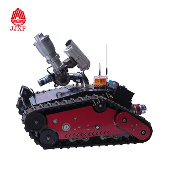 Thor Robotics Ugv Remote Control Fire Fighting Robot With Gas Detector  Cannon Fire Fighting Detecting Robot - Buy Fire Fighting Detecting  Robot,Fire