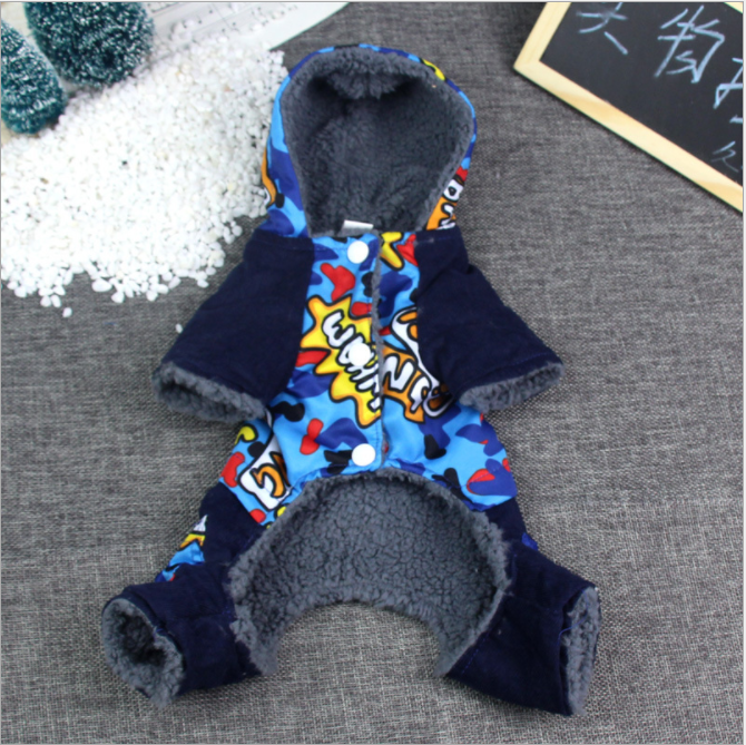 Factory wholesale durable and warm winter dog clothes bulk