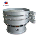 Glass powder rotary vibrating screen sieve machine