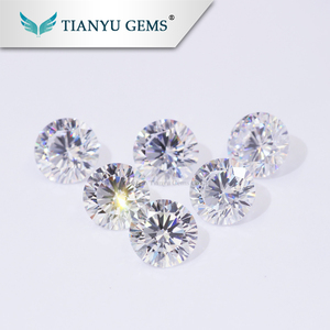 Wholesale Wuzhou Gems Best Fake Diamonds Synthetic AAA Quality Cubic Zirconia Rough Gems