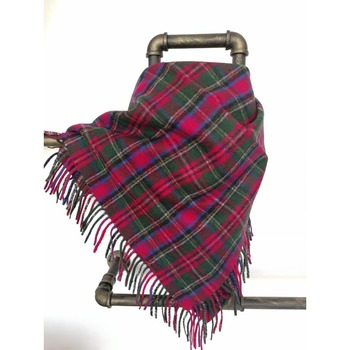 Factory Cheap Plaid Cashmere Merino Tartan Wool Women Shawl Plaids