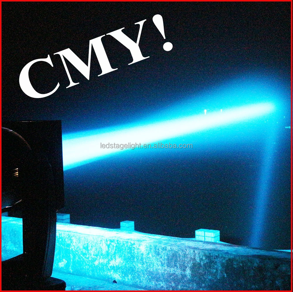 CMY color mixing xenon 2000W 3000W 5000W 7000W search lights moving head