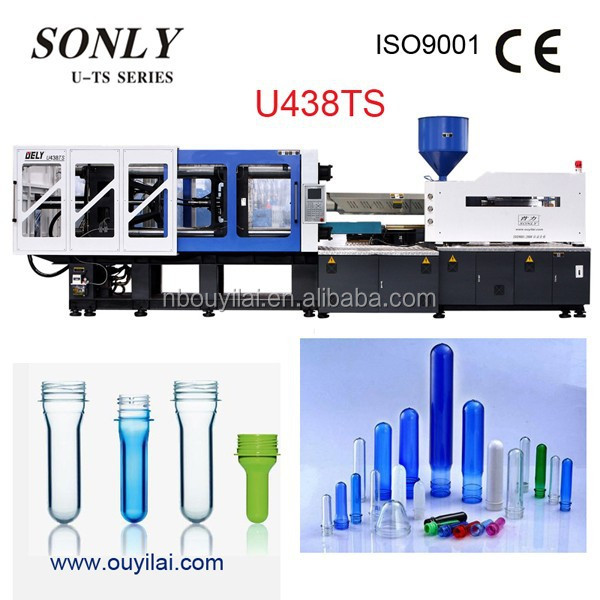 PET Preform Plastic Bottle Injection Molding Machine
