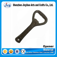 very popular design cast iron classical creative beer bottle opener
