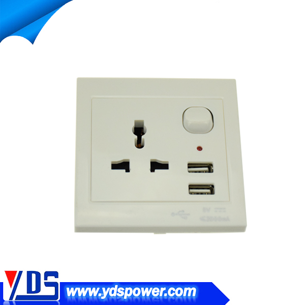 alibaba co uk 1000mA or 2000mA for option usb wall socket with 2 usb port