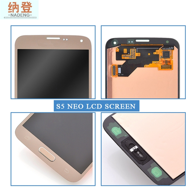 Original LCD Screen  Smart  Lcd  Screen Replacement  Lcd Touch Screen For  Samsung   S5 G903