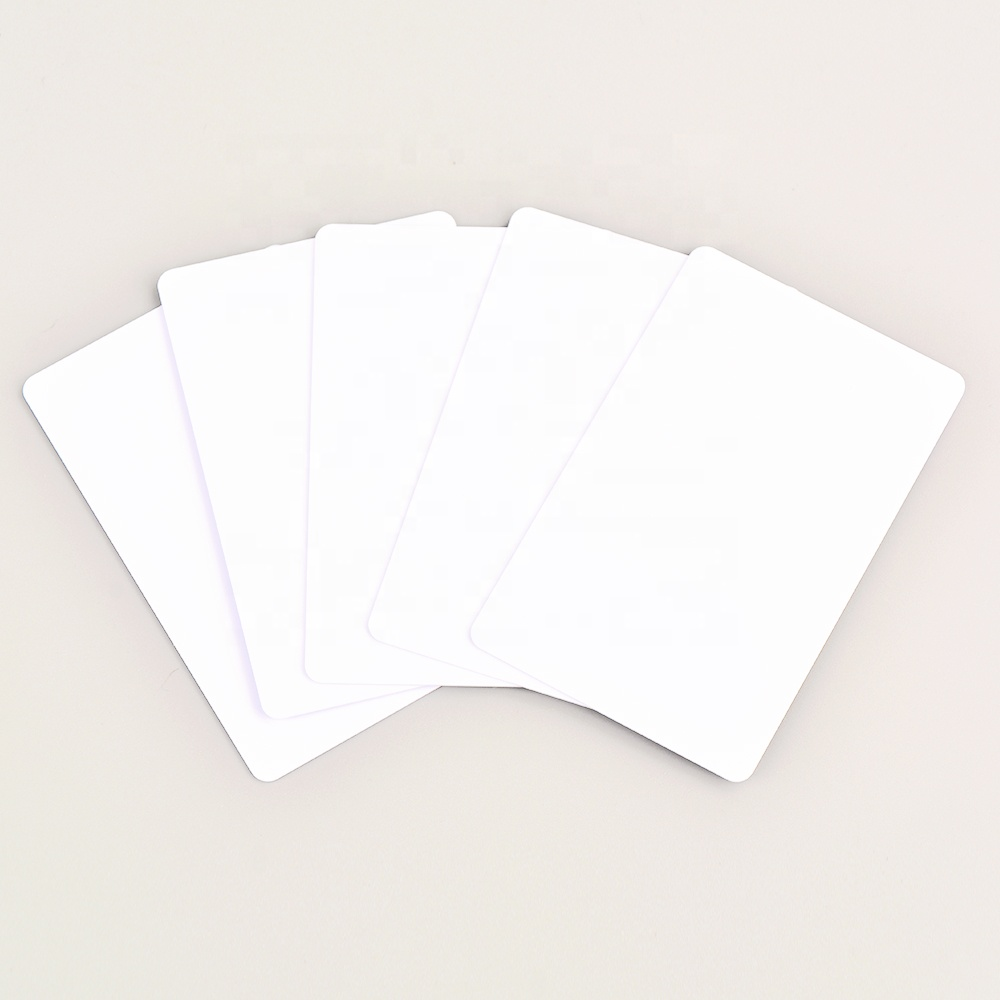 Cheap and factory sell directly NFC card 13.56MHz 1KB memory blank white card