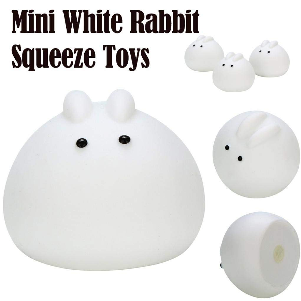 callm Squishies, Mini Rabbit Slow Rising Jumbo Squishy Toys Kawaii Cute Scented Squishies Kids Party Squishy Stress Reliever Toy
