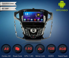 android car dvd player 3g wifi for old For d fcous2012 C Max 2011 1024*600 optional WS-9210