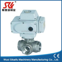 Professional electric actuator water blow off valve for sea water Jiangsu