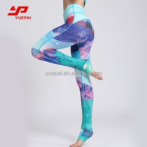 Factory OEM Yoga Fitness Clothing / High Waistband Tights Yoga Leggings