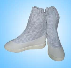 Hight quality ESD PVC safety boots for cleanroom