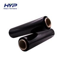 China Fabrik Liefern Billige verpackung kunststoff pe carbon schwarz wrapping film roll