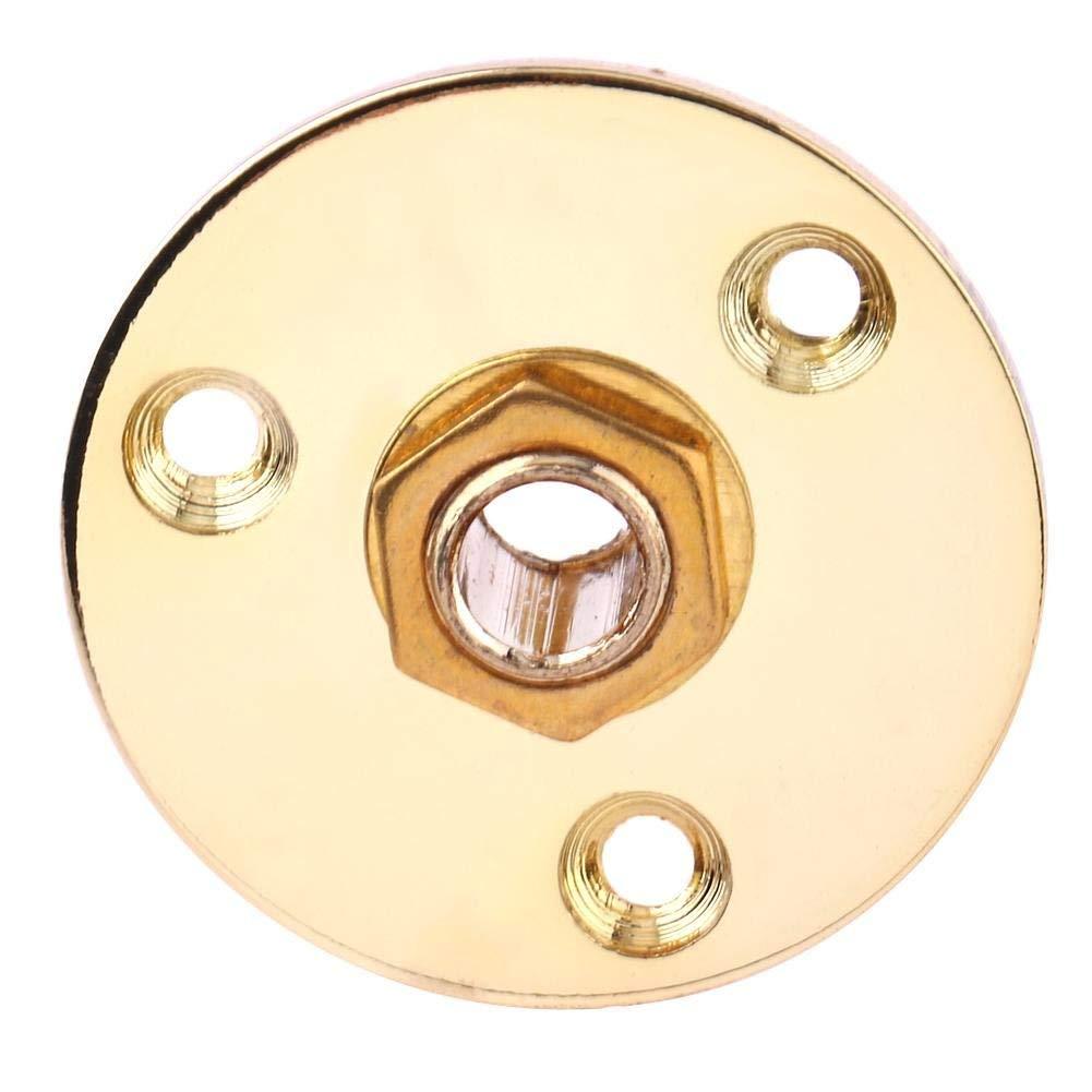 B Blesiya 1pc Electric Guitar Mono Endpin Jack 6.35mm 1//4Inch Socket Plug Gold