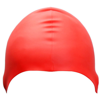 Colorful Fashion Safety Silicone Swim Cap With Custom Logo