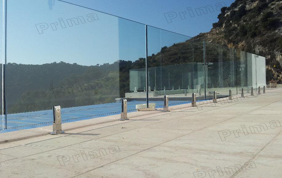 Australia12mm Clear Toughened Frameless Swimming Pool Gl Railing System