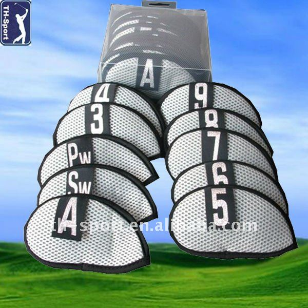 High Quality Neoprene Golf Iron Club Head Cover