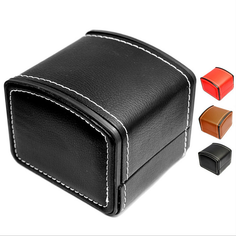 High Grade Genuine Leather Custom Storage Display Watch Box Jewelry Box