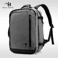 ARCTIC HUNTER 2020 Wholesale 2 in 1 Backpack laptop Bags Backpack 17 Inch Laptop School Bag For Travel Oxford Business Backpack