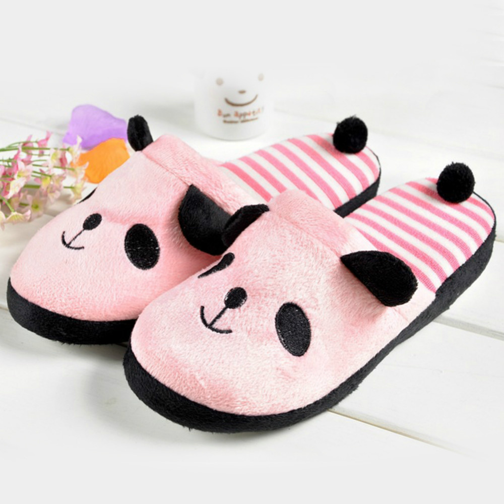 83830b25356 Get Quotations · Winter Cute Bear Women Shoes Home Slippers Slipper Soft  Slipper Warming Homing Slippers Womens Indoor Shoes