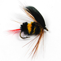 6PCS Lot Bumblebee Fly Fishing Flies Trout Bass size 10 Factory Customize Flies Bumble Bee Lure