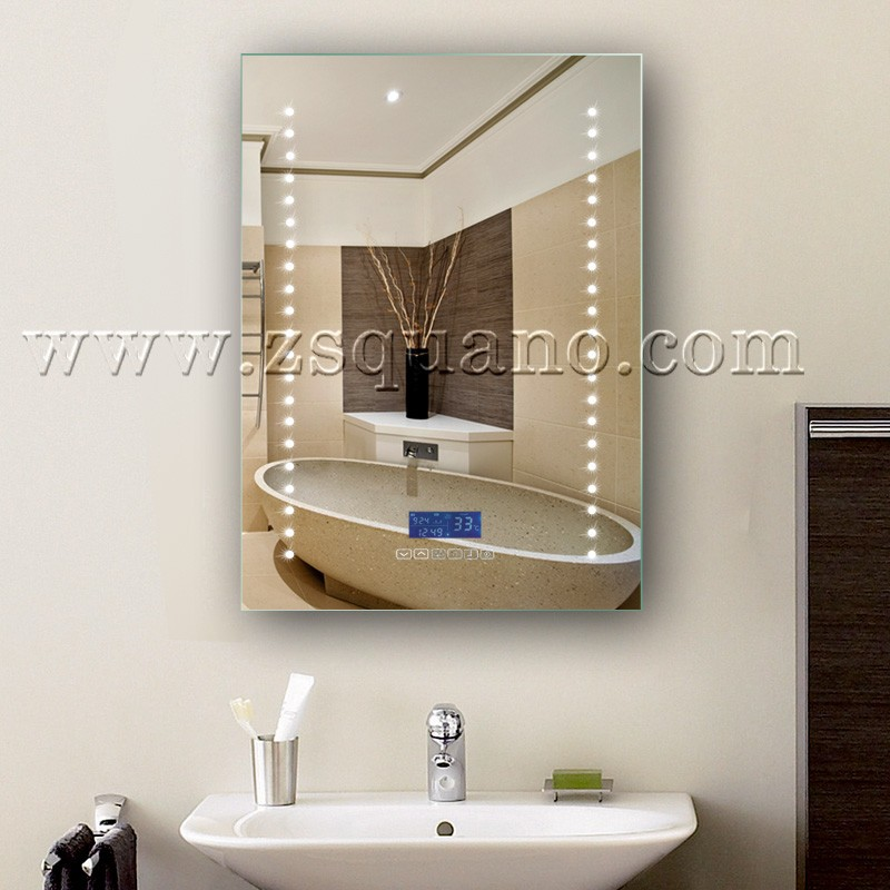 Musical LED Bathroom Mirror with Bluetooth