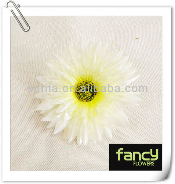 2013 hot sale artifcial daisy flower head with hig quality with ample stock
