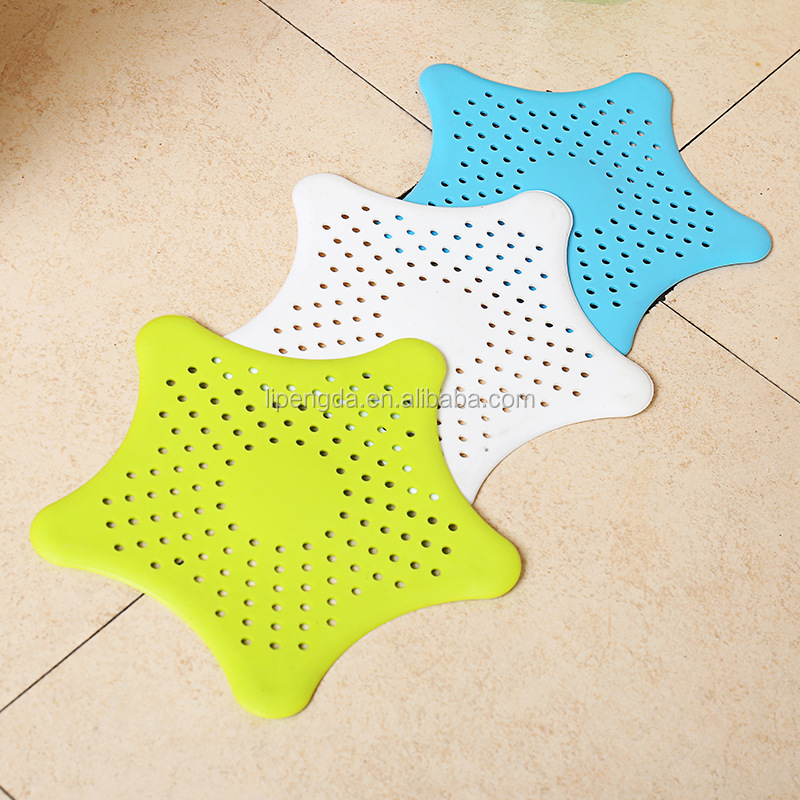 Silicone Kitchen bathroom Sink Strainer Filter Sink Drain Cover waste stopper Floor drain Sink strainer prevent clogging