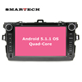 For Toyota Corolla Quad Core Android 5 1 1 Car DVD Video Strereo Radio Player GPS