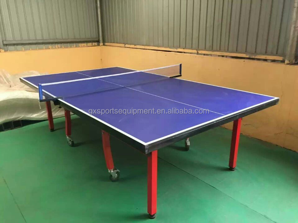 Indoor vouw tafeltennis pingpong tafel in USA Pakistan